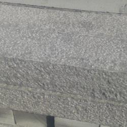 Sawn - sheared curbs
