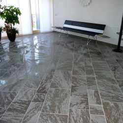 Semi-gloss porphyry tiles