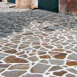 Standard irregular porphyry slabs